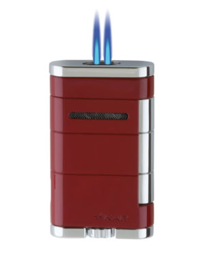 XIKAR Allume Double Riot Red Jet Lighter