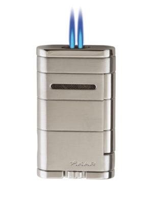 XIKAR Allume Double Steel Jet Lighters