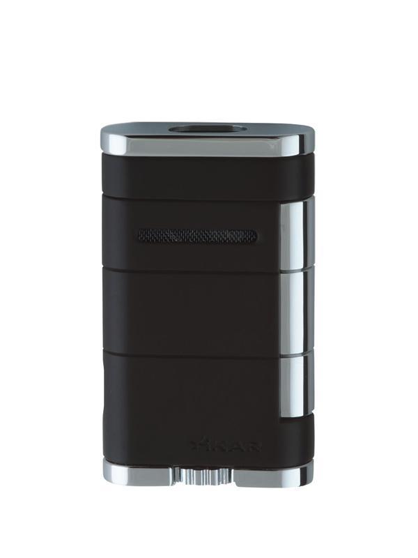 XIKAR Allume Double Tuxedo Black Jet Lighter