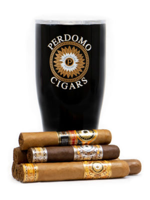 Perdomo Drink + Cigar Kit