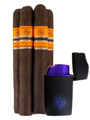 Rocky Vintage 06 Cigar + Lighter Kit
