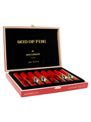 God Of Fire Robusto Tubo