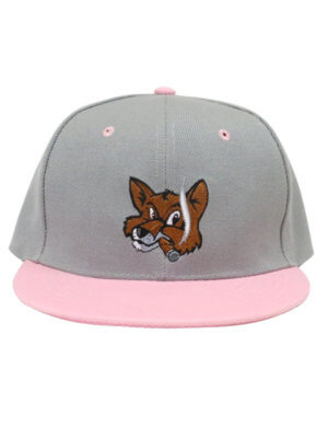FCB Double Snap Pink + Gray
