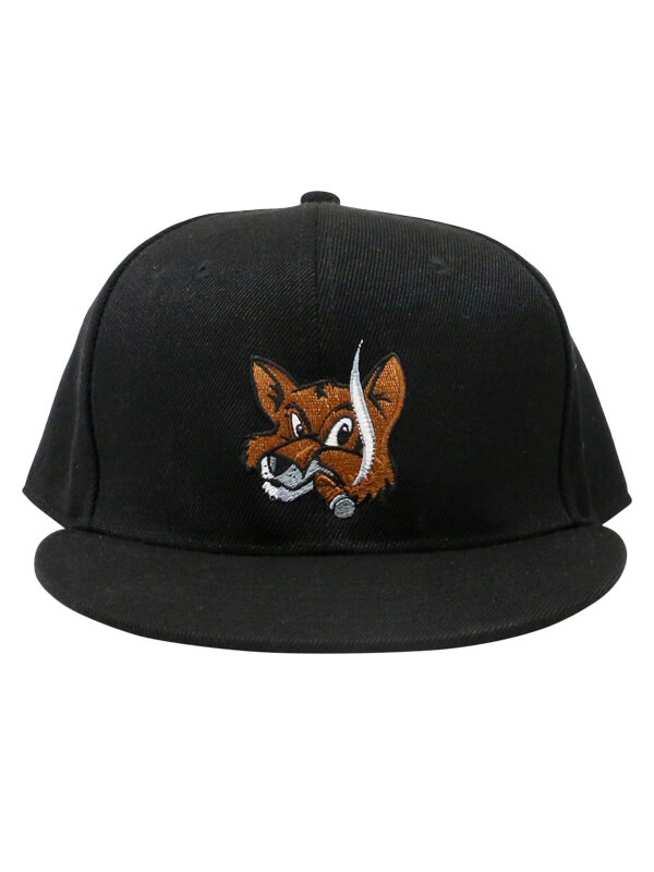 Fox Cigar Bar Double Snap Hat - Black – Fox Cigar