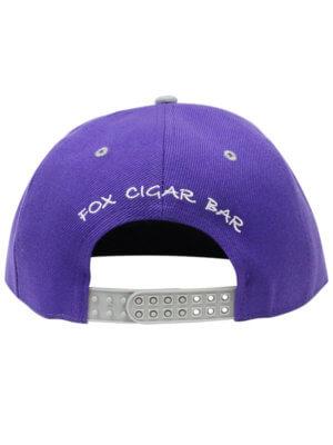 FCB Double Snap Purple + Gray