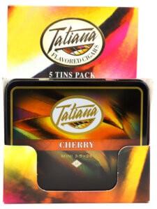 Tatiana Mini Cigarillos Cherry