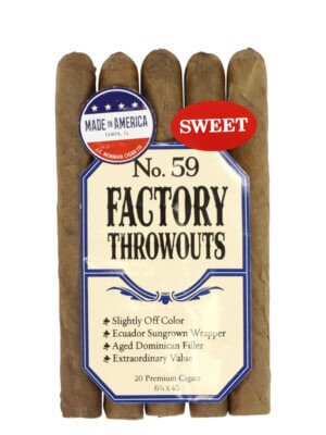 Factory Throwouts No. 59 Sweet